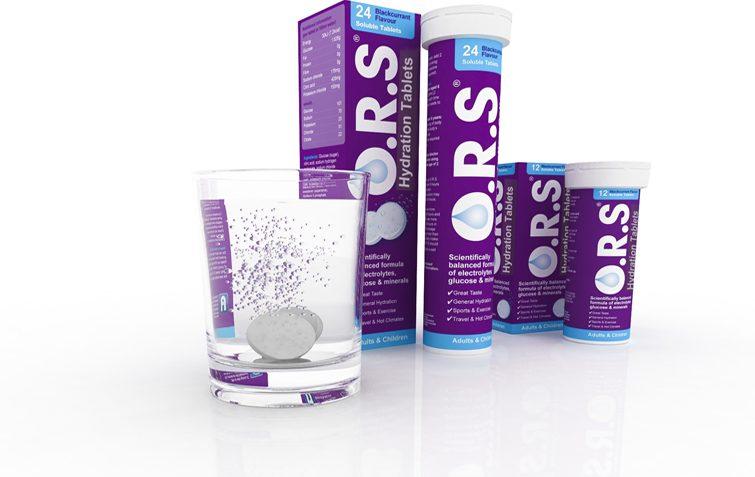 O.R.S oral rehydration tabs