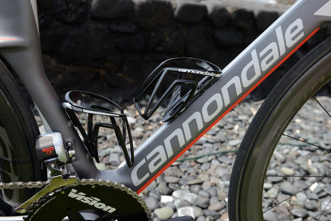 Tubes on the new Cannondale Slice