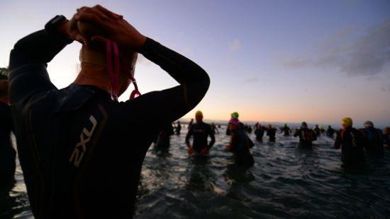 Ironman New Zealand 2014 swim