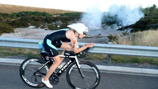 Candice Hammond at Ironman New Zealand