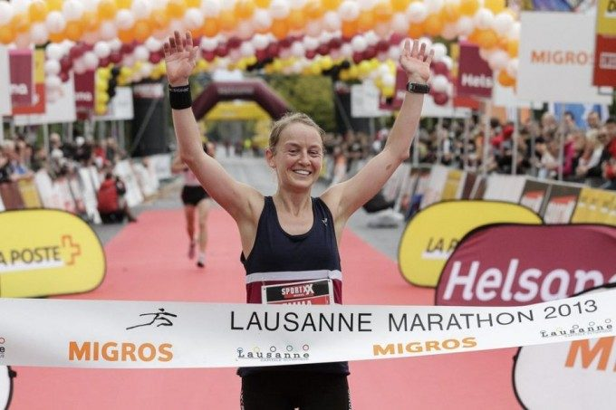 Emma Pooley wins Lausanne Marathon