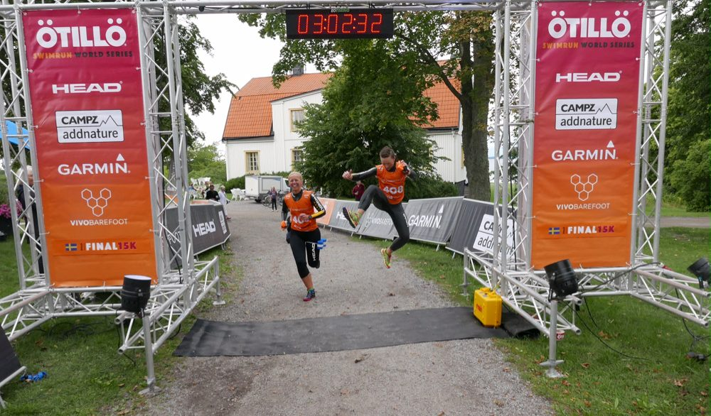 Sprinting to the finish line at ÖtillÖ Final 15. Image: Jakob Edholm