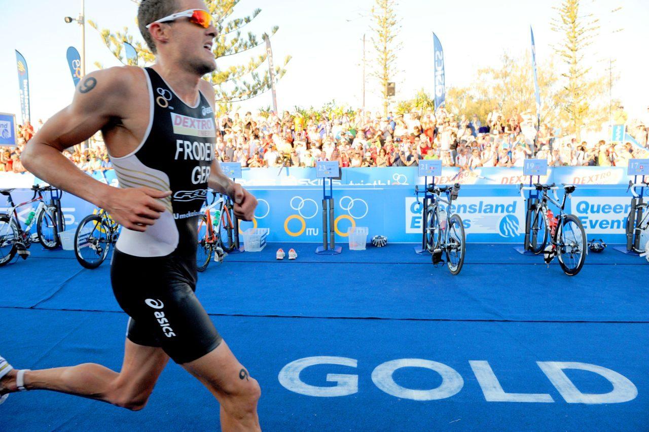 Jan Frodeno on the run