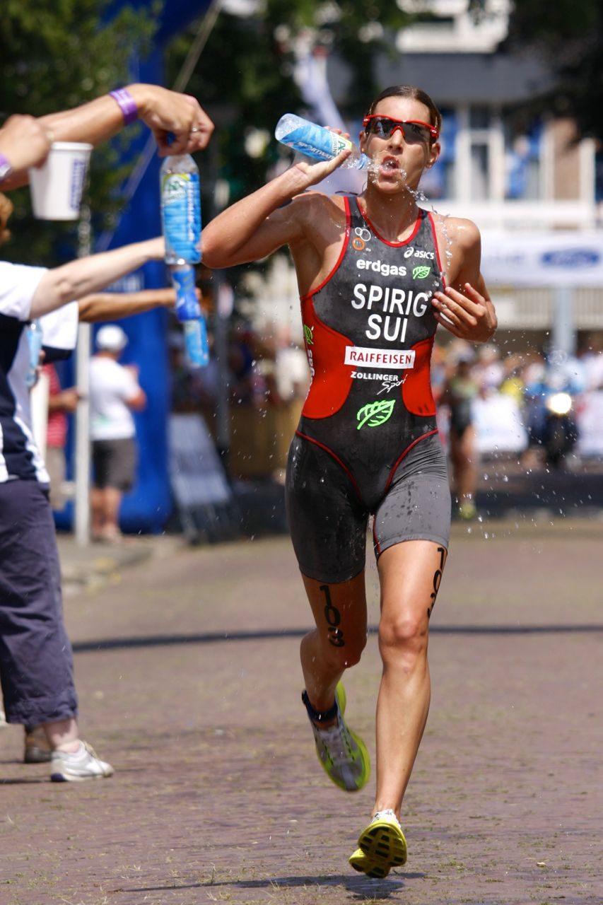 Triathlete on the run (image: ITU)