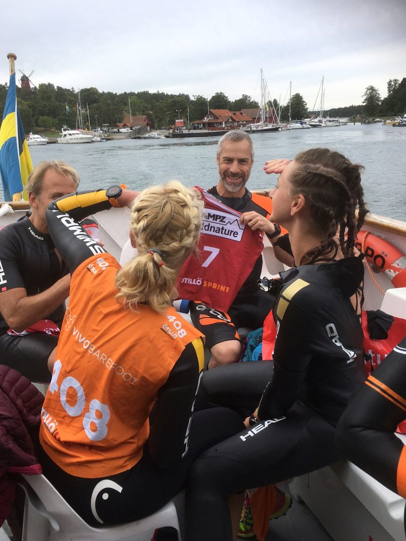 The Final 15 ÖtillÖ race starts with a ferry ride to the start – and a chance to check out the course ahead!