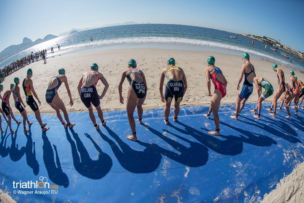 Women start at Rio Olympics test event
