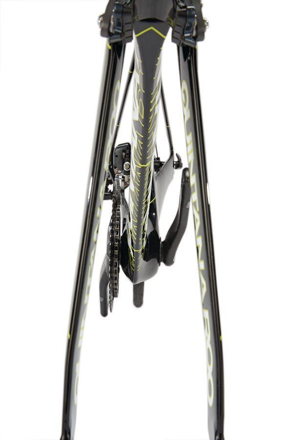 Frameset of Quintana Roo's PRFive triathlon bike