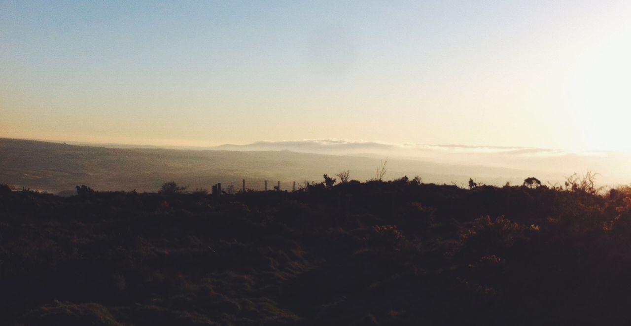 Sunrise in Devon