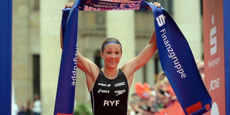 Daniela Ryf wins Ironman 70.3 Wiesbaden