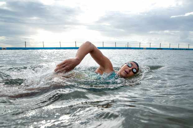 How much swimming should triathletes do?