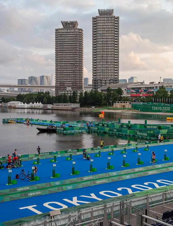 东京2020年男子铁人三项