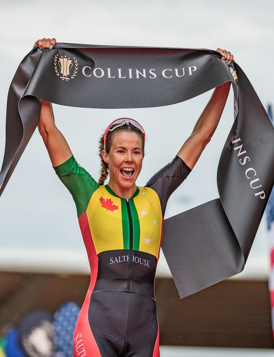 Ellie Salthouse winning at the Collins Cup
