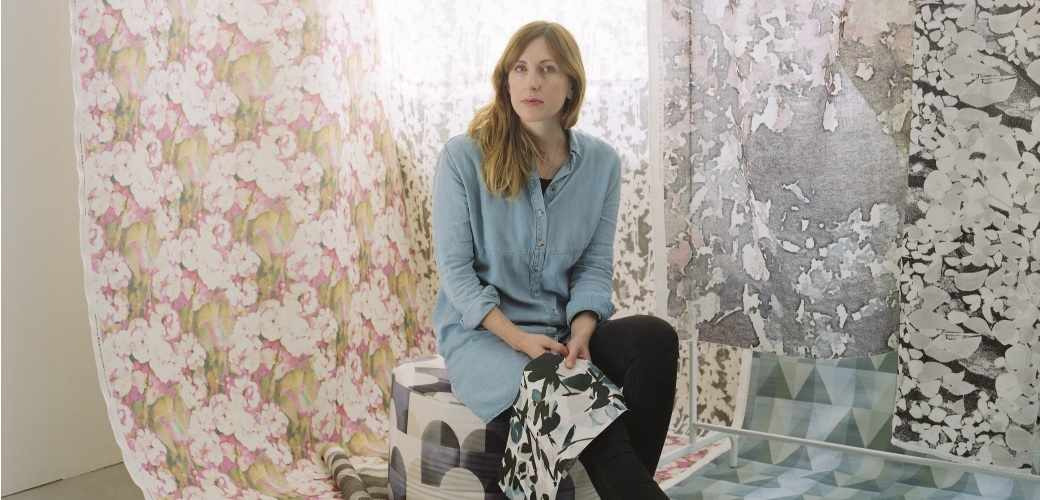 Imogen Heath floral fabrics and wallpapers