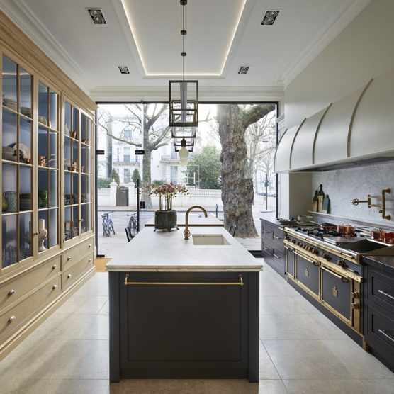 In-frame shaker kitchen
