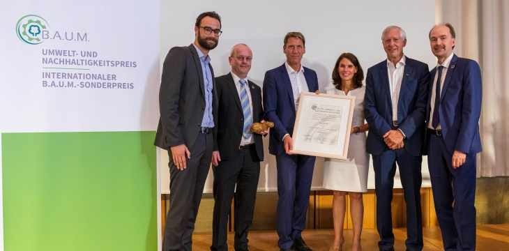 2019 Environmental and Sustainability Award for large enterprises.