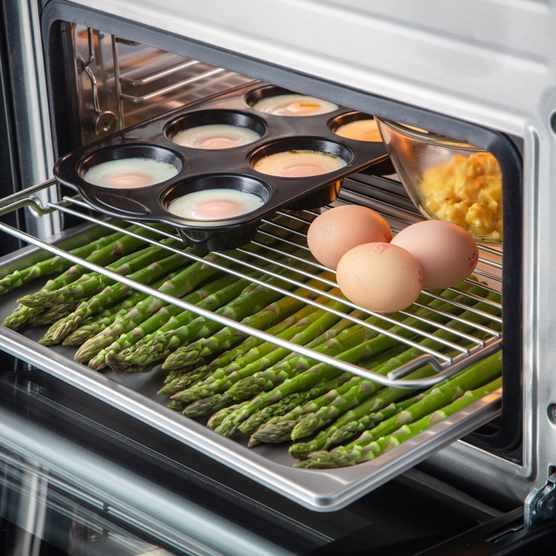 Steam oven Eggs
