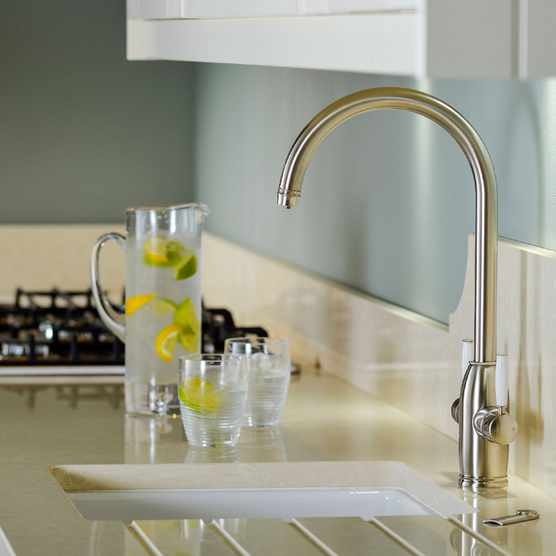 Abode PRONTEAU Province 4 in 1 brushed tap