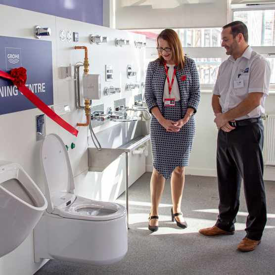 GROHE partners with Colchester Institute. Credit Alex Dean Colchester Institute