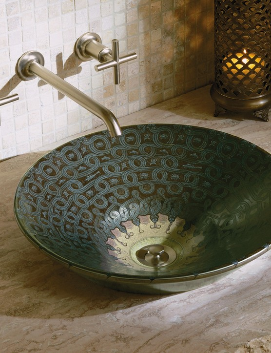 Kohler's Serpentine Bronze basin