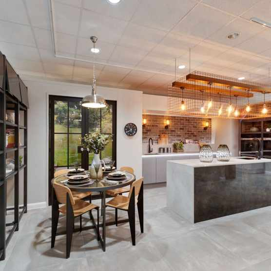 Liverpool showroom one of the new industrial kitchen displays