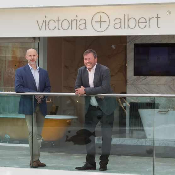 V + A directors Jim Platt and James Smith