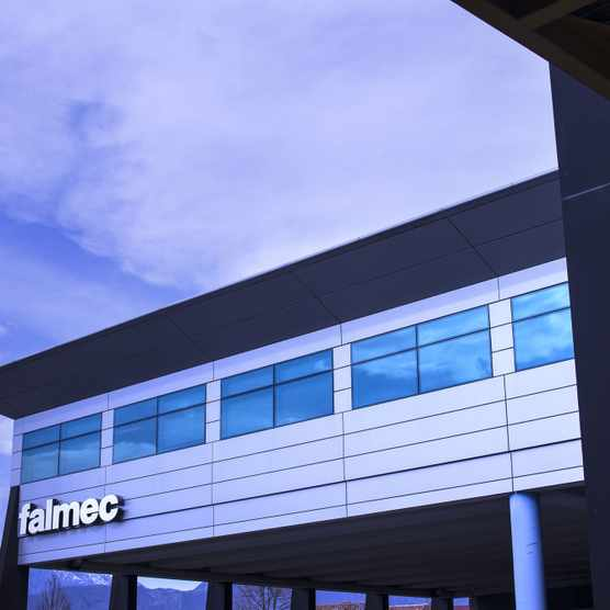 Falmec factory in Italy