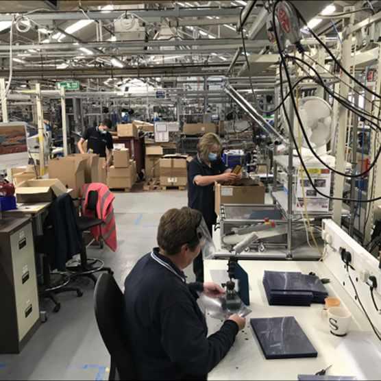 Kohler Mira factory