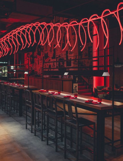 Case study: RAK ceramics chosen for Dubai cocktail bar