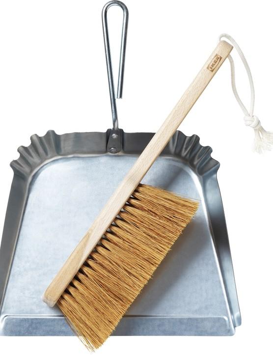 Borstad dustpan & brush, £12, IKEA