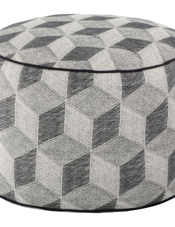 Grey pouffe, £35, Sainsbury's Home