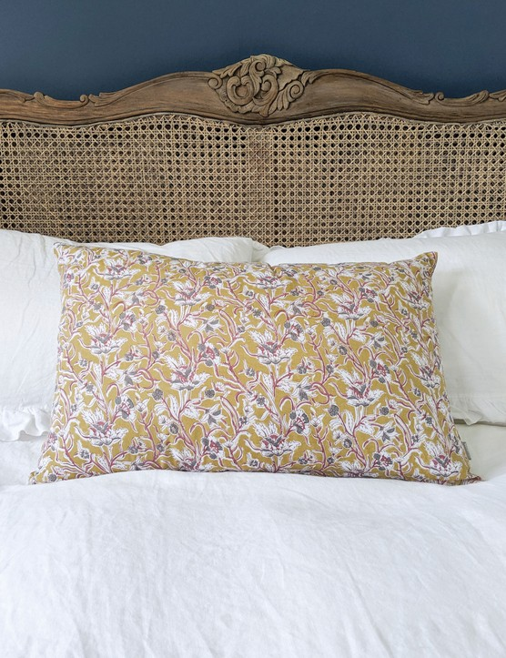 Cushion, £42, The French Bedroom Company