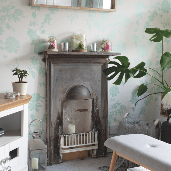 Real life home: 'I mixed colour, fabric and patterns to bring my dated home back to life'