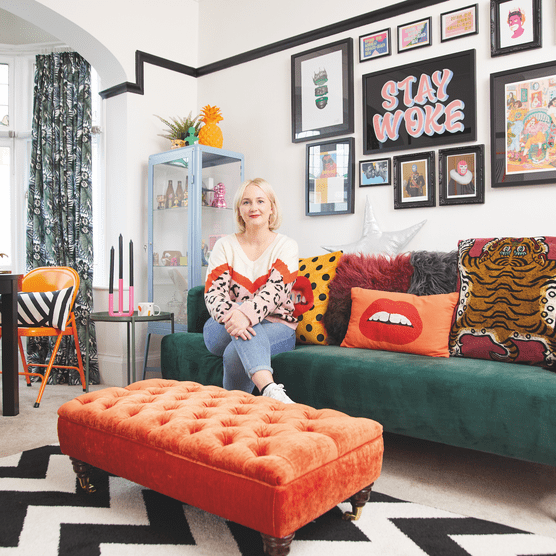Real rental inspiration: 'our bold look is only temporary'