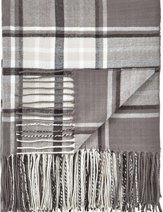 Henley check throw, £19.99, Very