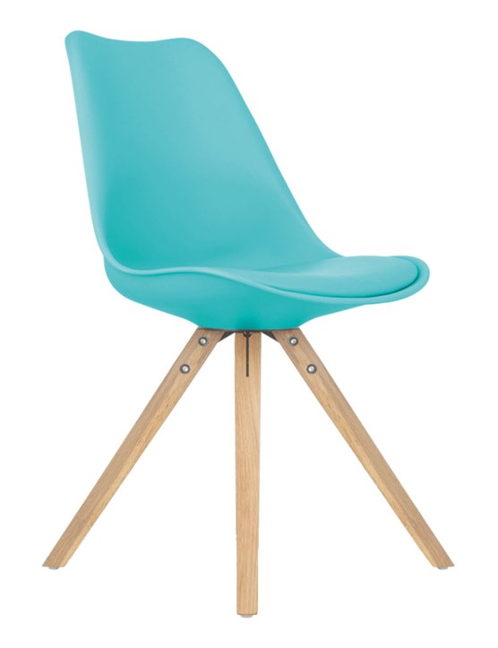 Turquoise dining chair, £34, Cult Furniture