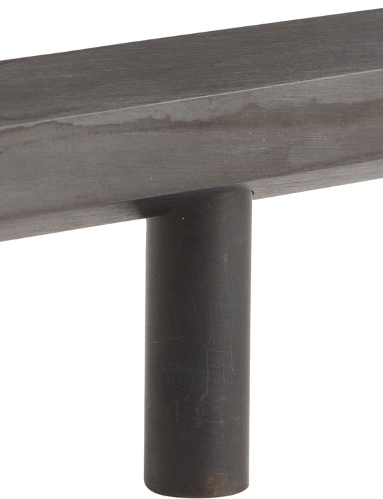 Hive T-bar handles in Antique Black, £14.99, Dowsing & Reynolds