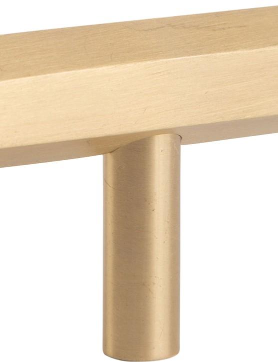 Hive T-bar handle in Raw Brass, £14.99, Dowsing & Reynolds