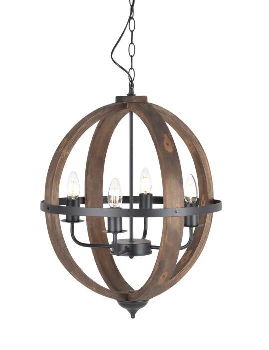 Brandi 1 Light Globe Pendant