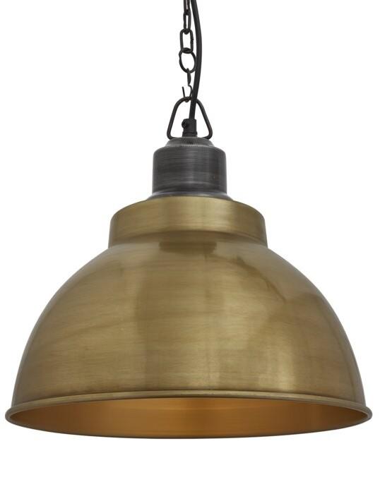 Brooklyn 1 Light Dome Pendant