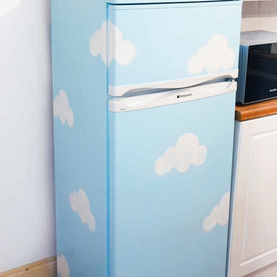 Pastel fridge tutorial