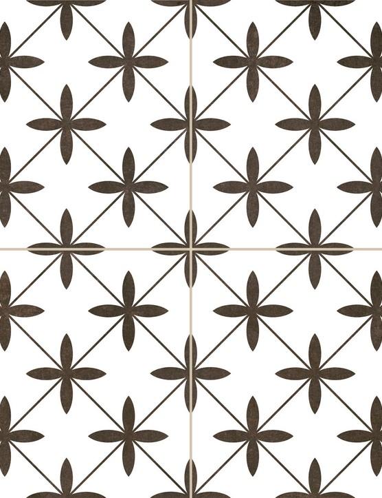 Oakham White Scored Tiles
