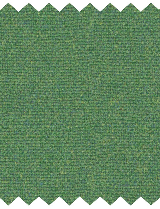 ; Flax curtain fabric in Evergreen, £39 per m, Stitched