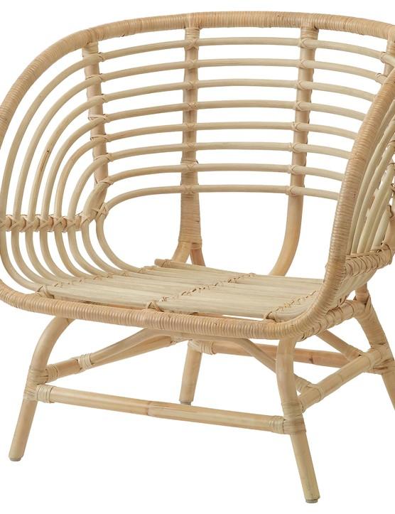 Buskbo rattan armchair, £99, IKEA