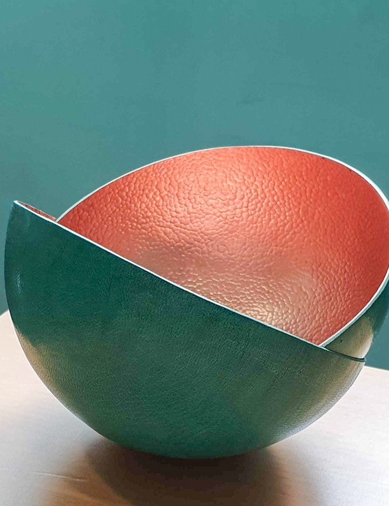 Malian copper bowl in turquoise, £59.66, Artisan & Fox
