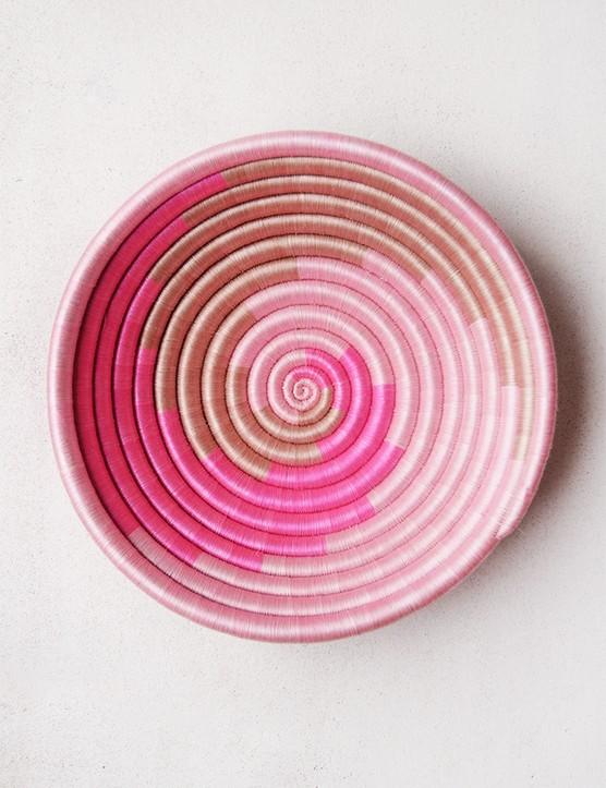 Pink Swirl Plateau, £55.68, Indego Africa