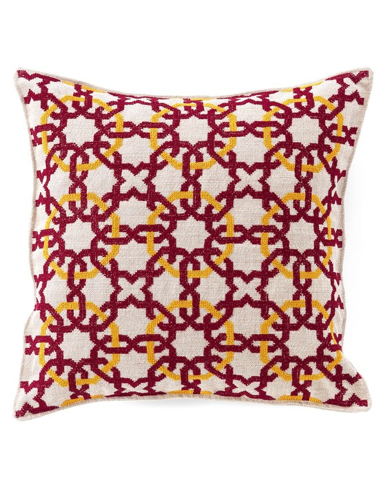 Cushion Cover Putrajaya, £197, SEP Jordan