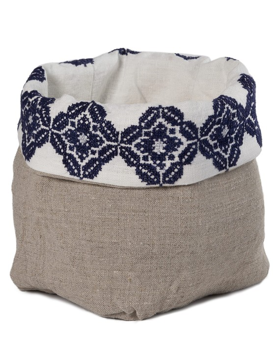 Linen bread-basket, £51, SEP Jordan