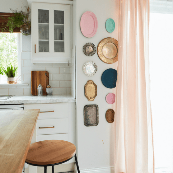 Home makeover: 'We discovered our unique decorating style'
