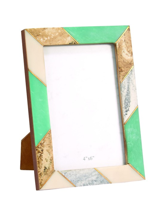 Mint Marble Photo Frame, Home Sense