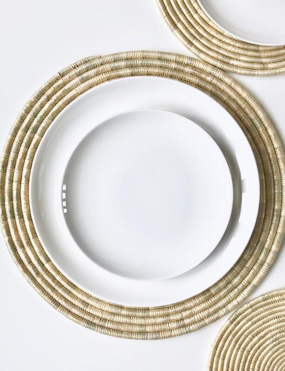 Ugwafu Lustre Tablemats, £9.50, QÄSA QÄSA